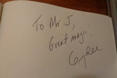 Mr. D (Gerry D autograph)