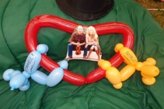 Natalie MacMaster (Balloon gift for her and her husband Donnell Leahy)