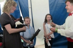 """Natalie MacMaster (""""Wow!! That trick was really sumptin'!)"""