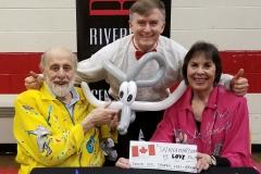 Sharon, Lois & Bram (Balloon elephant gift)