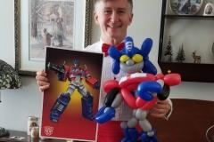 Transformers: Optimus Prime balloon gift