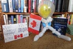 Chris Hadfield (Astronaut Balloon tribute!)
