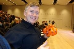 Yann Martel ('Life of Pi' author balloon tribute)