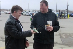 Frankie MacDonald (Present for all his work- he was very happy!))