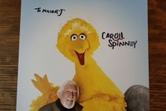 Sesame Street's Caroll Spinney (Autographed picture)