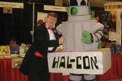 Hal-Con mascot 'Nelson'