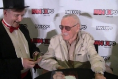 Stan Lee (The Man always loves magic!)