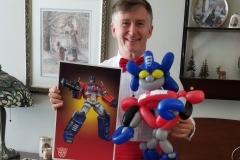 Transformers (Optimus Prime balloon)