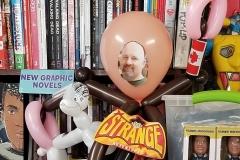 Calum Johnston (Balloon of himself!)