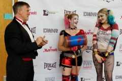 Harley Quinns (performing magic)