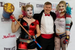 """Harley Quinns (and """"Mistah J"""")"""