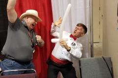 Mike Grell (Balloon swordfight!)