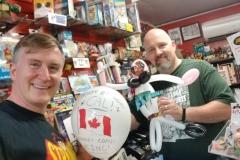 Calum Johnston (Reid Flemming- World's Toughest Milkman balloon!)