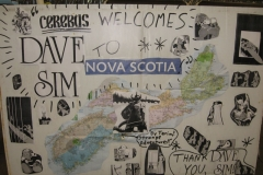 Dave Sim (Tribute sign)