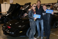 Knight Rider (with David Hasselhoff- Michael Knight!)