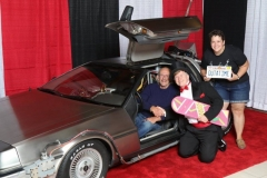 Back to the Future (DeLorean, with Christopher Lloyd- Doc Brown!)