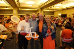 Lenore Zann (as NDP MLA, with candidates at rally)