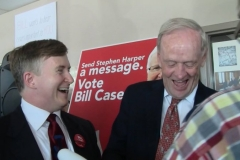 Jean Chrétien (Signing my book)