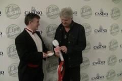 Tom Cochrane (Performing a card trick)