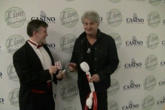 "Tom Cochrane (""That's awesome- You've got to teach me that!"")"