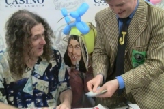 Weird Al Yankovic (Performing magic for the Prince of Parody!)
