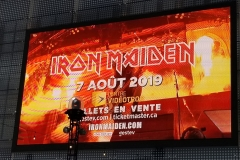 Iron Maiden (Québec City, Aug. 7th- Bruce's birthday!)