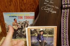 Stompin' Tom Connors (Son Taw Connors signed my guitar)