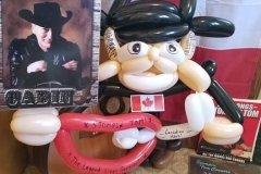 Stompin' Tom Connors (Balloon tribute for his son, Taw)