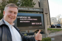 Symphony NS (Maestro Bernhard Gueller's final show, Beethoven's 9th)