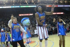 Harlem Globetrotters (Dancing alongside Moose Weekes)