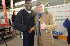 Ricky Anderson (Canadian Welterweight Champion, met Muhammad Ali)