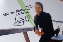 Luke Skywalker (Mark Hamill autograph)