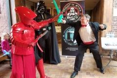 First Order Elite Praetorian Guard, with Darth Vader