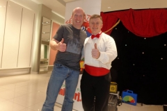 Ian Stewart (Hypnotist, World-record chainsaw juggler!)