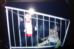 Amazing Mr. J (with tiger friend!)