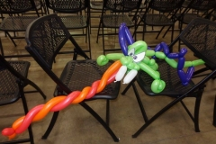"Ricky ""The Dragon"" Steamboat (Balloon dragon!)"
