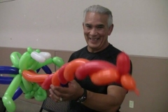 "Ricky ""The Dragon"" Steamboat (He liked his balloon, and kept it!)"