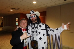 Macho Man Randy Savage (Look-a-like contest winner)