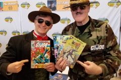 Sgt. Slaughter (Looking at each others comics!)