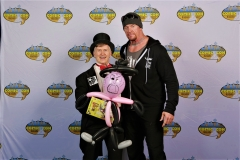 Undertaker (Liked his balloon!)